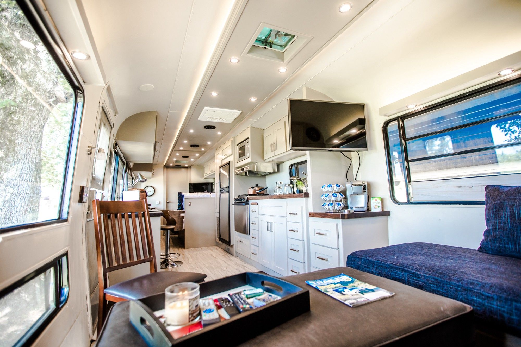 Modern RV Renovations On A Budget