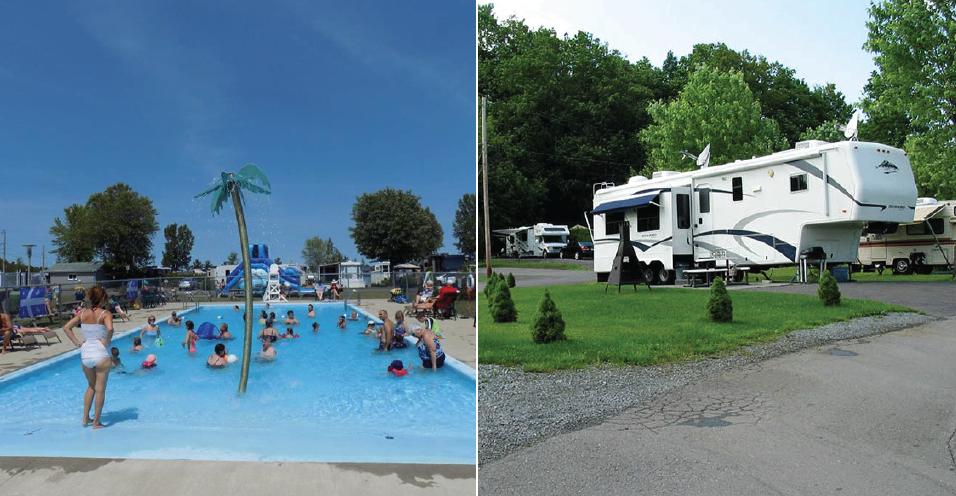 5 meilleurs terrains de camping au Québec